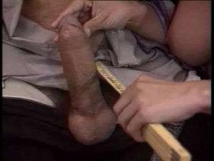 Парочка устроила итальянский ретро секс в гостинной