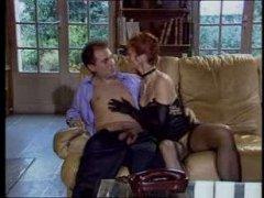 Немецкое винтажное порно с мужчиной и двумя женщинами