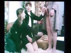 Ретро фильм: молодежный винтажный секс с девушками и мужчинами