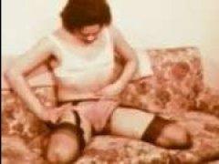 Парень и девушка занимаются сексом, винтаж онлайн